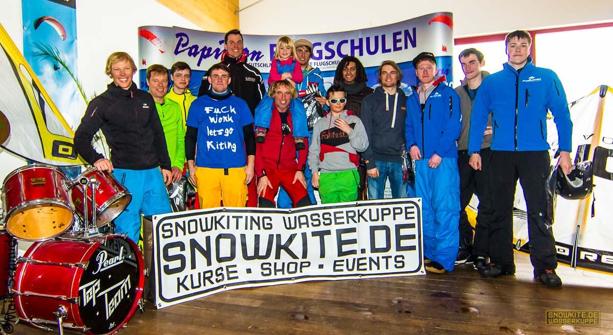 Snowkite-Meisterschaft