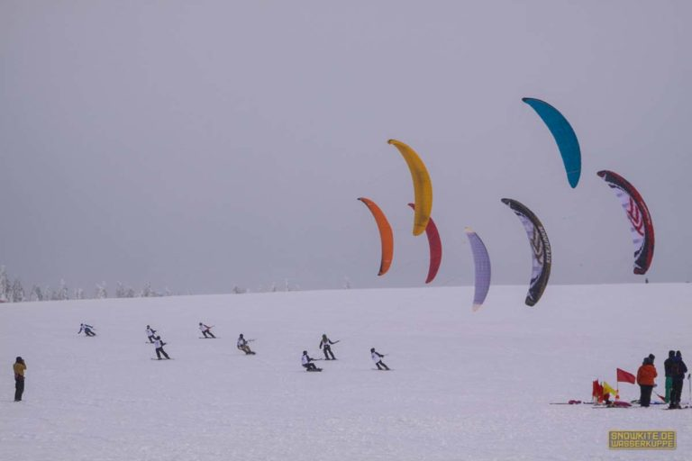 Snowkite-Meisterschaften 2010