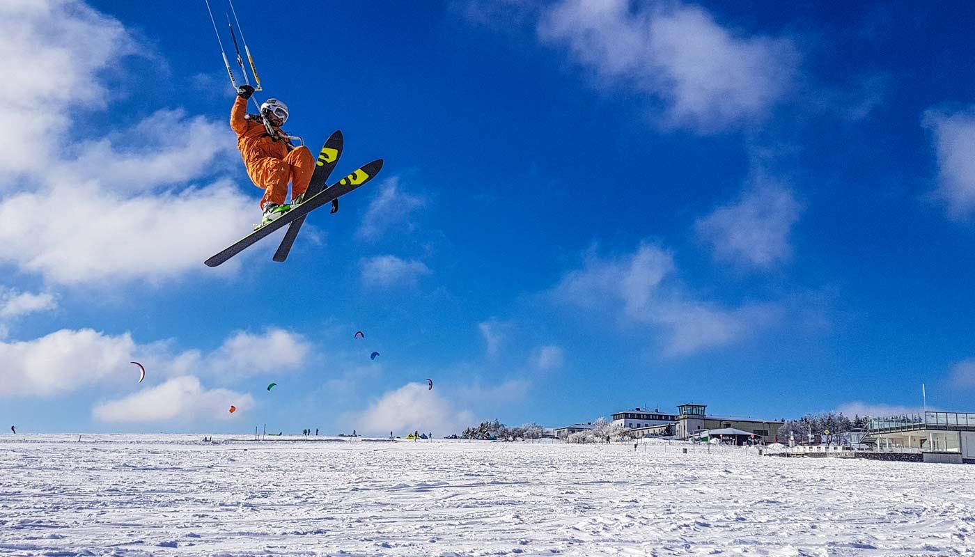 Snowkite-Aufbaukurs